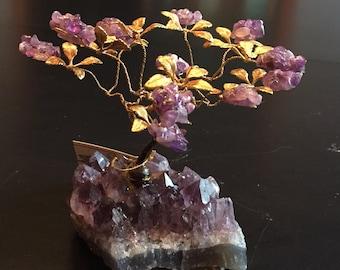 Amethyst Gem Tree on Amethyst