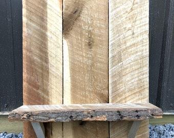 Barn Wood Display Shelf