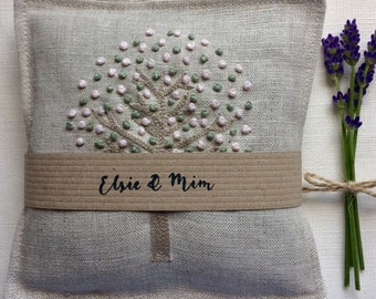 Lavender Bags in gorgeous Peony & Sage fabric ( pair)