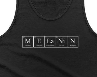 Melanin mens tank