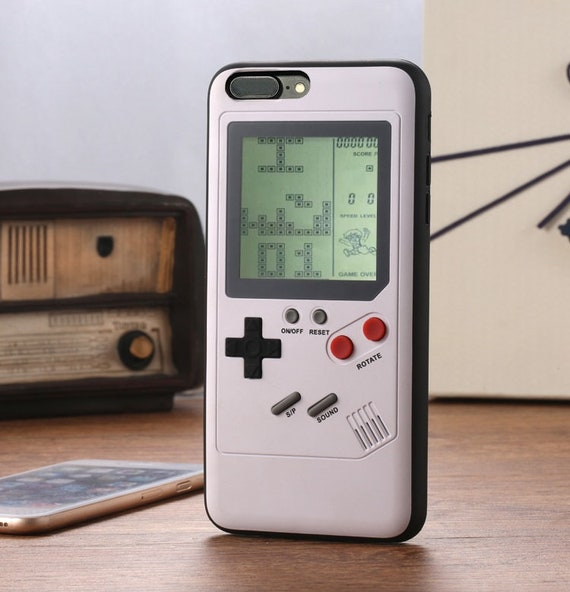 Tetris Gameboy iphone case