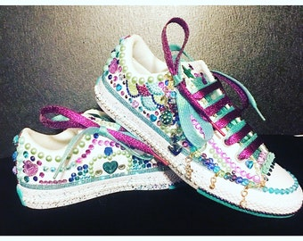 Custom Jeweled Converse 17f36e44671f