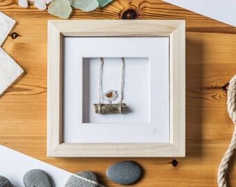 Chirpy Bird, Swinging Into The Weekend, Bird Watcher, Ready For An Adventure, Rope Swing, Happy Memories, Tweet Tweet, Cornish Sea Glass