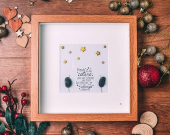 Friends Are Like Stars, You Don't Always See Them But You Know They Are Always There, Best Friend Christmas Gift, Looking Up At The Stars