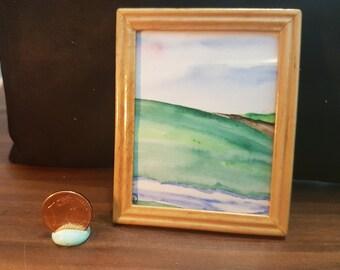 Watercolor, landscape