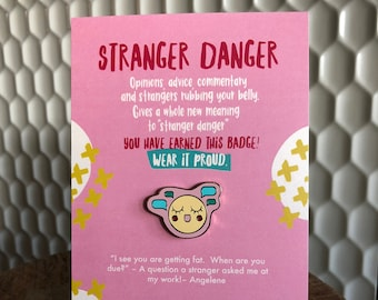 Parent Pins™ Stranger Danger Enamel Pin