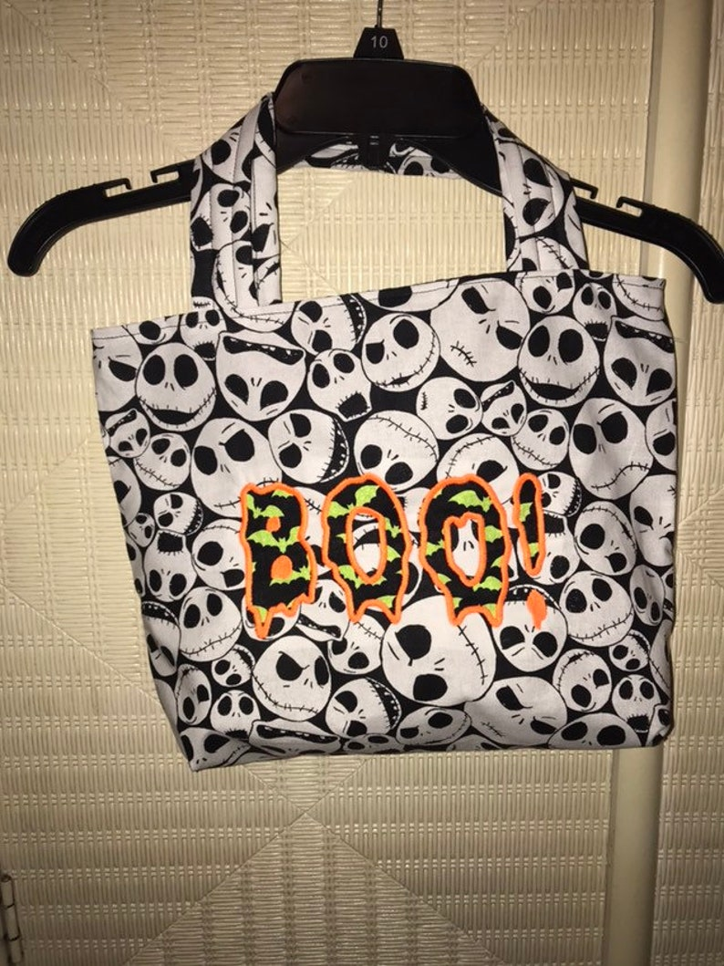Jack Skeleton Trick Or Treat Bag