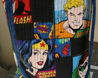 DC Heros Quilted Cross body bag #3