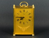 Vintage Swiss IMHOF Reuge Music Box 8 Day Musical Alarm Clock