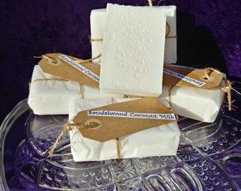 Sandalwood Coconut Milk Soap