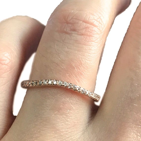0.12CTW DIAMOND FASHION MENS BAND Available Sizes 5 to 11
