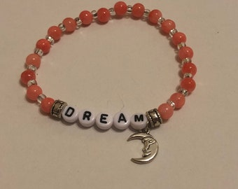 Dream with Coral Colored Stones