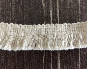"5Yards Cotton Tassel Trims Clothing Doll Cuff Skirt Dress Edge 0.78/"" Width"