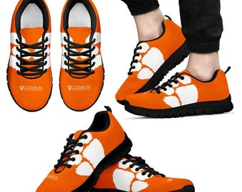 05fac9448ce9 Clemson Tigers NCAA Fan Custom Unofficial Running Shoes Sneakers Trainers
