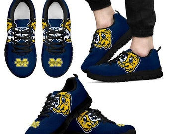 23f7ddbd0aad Michigan Wolverines NCAA Fan Custom Unofficial Running Shoes Sneakers  Trainers