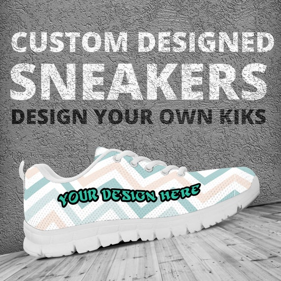 Custom Designed   Printed Running Shoes   Trainers   Sneakers  7fbf86ab49