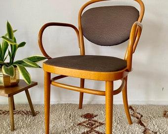 Thonet wooden chair by Josef Hoffmann.