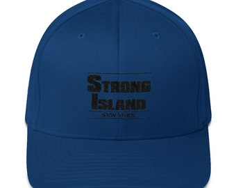 Strong Island New York T-shirt with White Bold Font  0b6ebcaf18e7