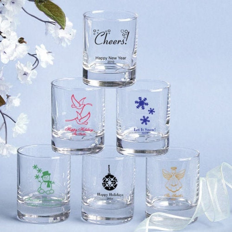 144 Personalized Shot Glass Or Votive Candle Holders Wedding Shower Party Favors