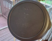 Vintage Iron Mountain by Griswold Cast Iron 8 Chicken Pan Deep Skillet With Lid Fully Cleaned and Seasoned