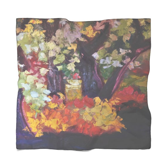 Bartos Art Scarf: Deep Water, Enhance your Individuality and Appearance for every Occasion