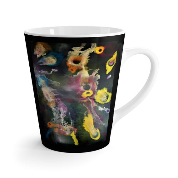 Bartos Art Latte Mug: Secrets of the Sea, Beautiful Work of Art on Mug for true Coffee Lovers