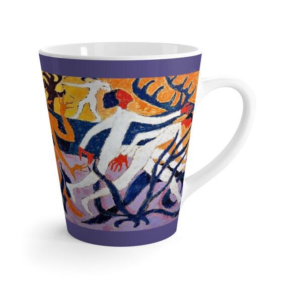 Bartos Art Latte Mug: THE WONDER DEER, Beautiful Work of Art on Mug for true Coffee Lovers