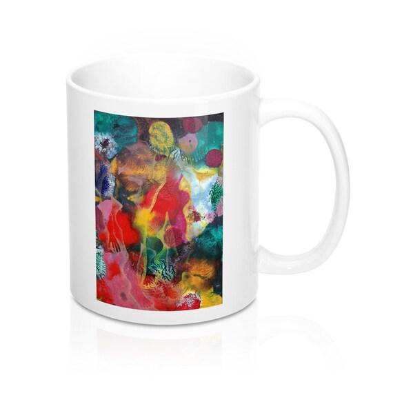 Bartos Art Mug: MIMICRY VI., Appreciated Present for every true Hot Beverage Lover
