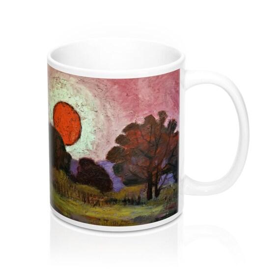 Bartos Art Mug: Sunset, Appreciated Present for every true Hot Beverage Lover