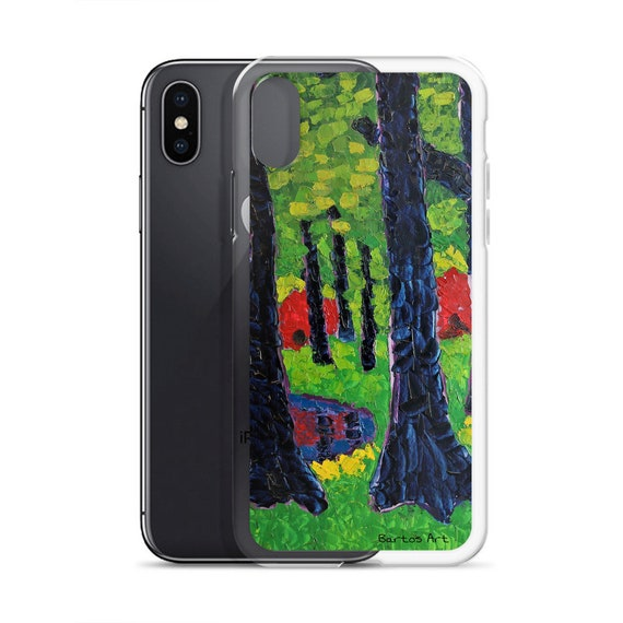 Bartos Art iPhone Case: RHODODENDRONS, PARIS, Highlight your unique Appearence