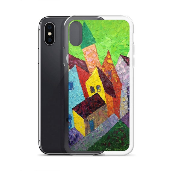Bartos Art iPhone Case: HOUSES in MINDELHEIM I., Germany, Highlight your unique Appearence