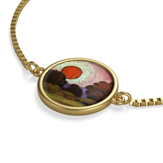 Bartos Art Bracelet: Sunset, Emphasize your Individuality and aesthetic Sense
