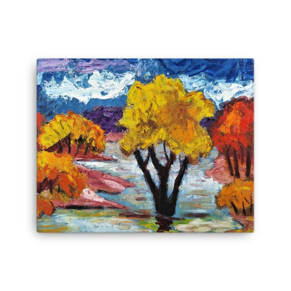 Bartos Art Stretched Canvas: WOODLAND III., Create Your Personalized Environment