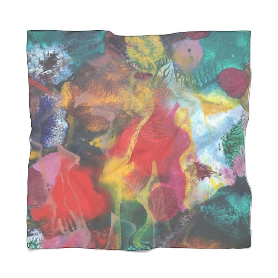 Bartos Art Scarf: MIMICRY VI., Enhance your Individuality and Appearance for every Occasion