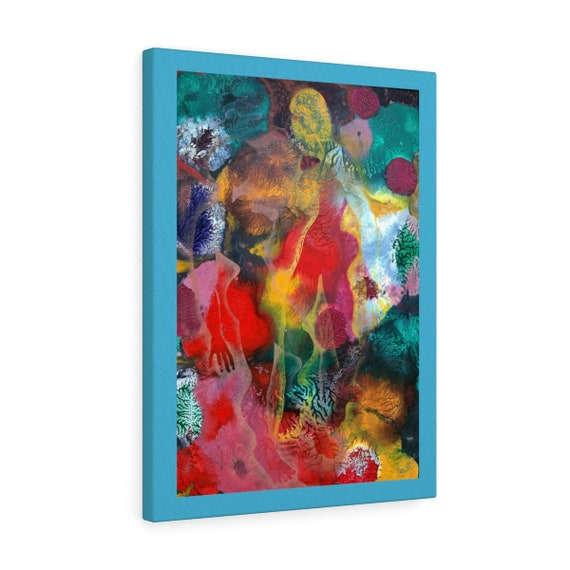 Bartos Art Canvas with color Margin: MIMICRY VI., Emphasize your Individuality at your Home and in your Office