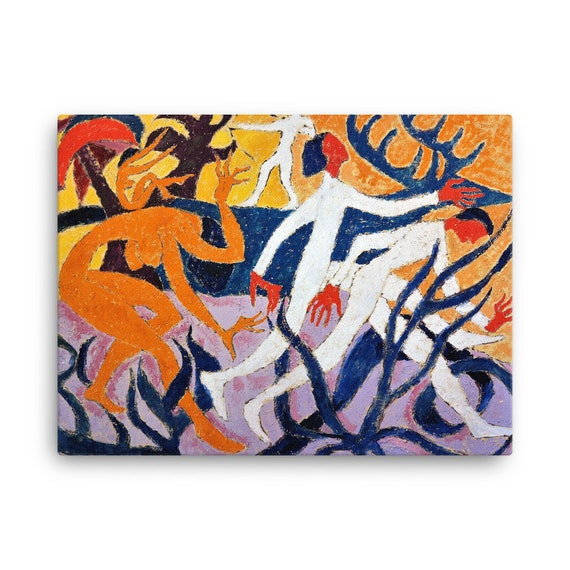 Bartos Art Stretched Canvas: THE WONDER DEER, Create Your Personalized Environment