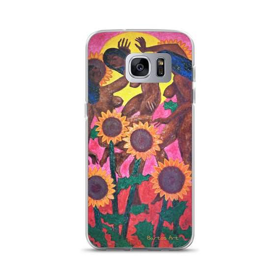 Bartos Art Samsung Case: SUNFLOWERGIRLS, Highlight your unique Appearance
