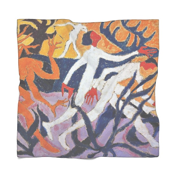 Bartos Art Scarf: THE WONDER DEER, Enhance your Individuality and Appearance for every Occasion