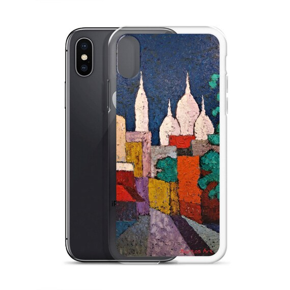 Bartos Art iPhone Case: SACRE COEUR, PARIS, Highlight your unique Appearence