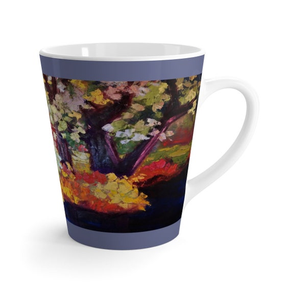 Bartos Art Latte Mug: Deep Water, Beautiful Work of Art on Mug for true Coffee Lovers