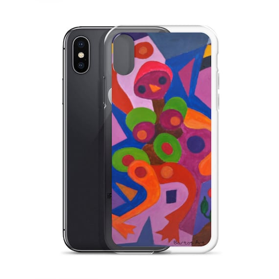 Bartos Art iPhone Case: BIRDIE, Highlight your unique Appearence