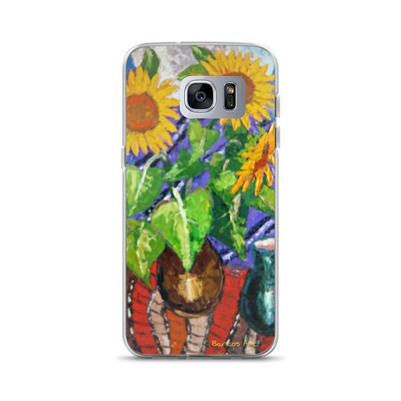 Bartos Art Samsung Case: SUNFLOWERS, Highlight your unique Appearance