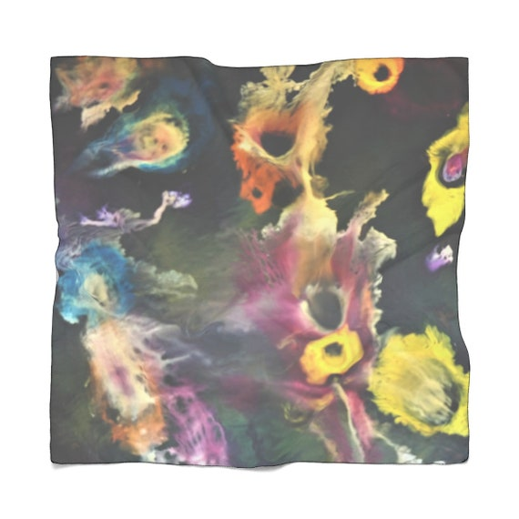 Bartos Art Scarf: Secrets of the Sea, Enhance your Individuality and Appearance for every Occasion