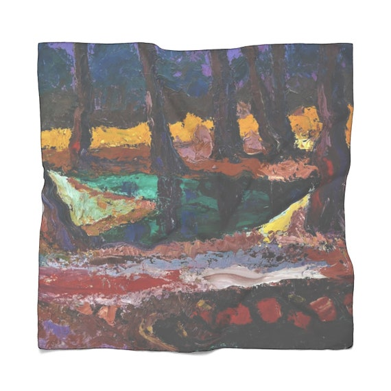 Bartos Art Scarf: FOREST III., Enhance your Individuality and Appearance for every Occasion