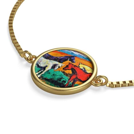 Bartos Art Bracelet: Horses, Emphasize your Individuality and aesthetic Sense