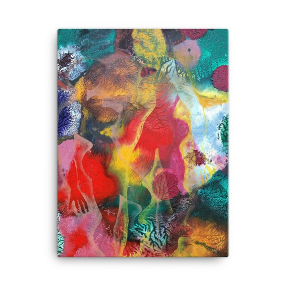 Bartos Art Stretched Canvas: MIMICRY VI., Create Your Personalized Environment