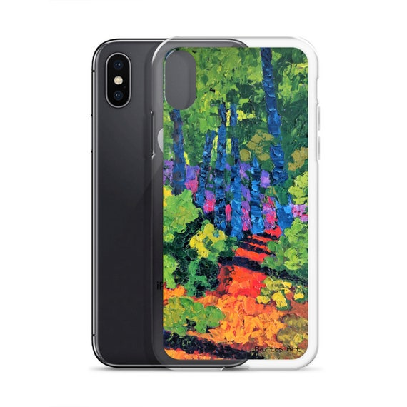 Bartos Art iPhone Case: FOREST I., Highlight your unique Appearence