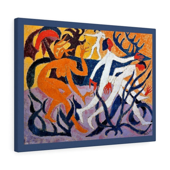 Bartos Art Canvas with colour Margin: THE WONDER DEER, Emphasise Your Individuality at your Home and in your Office