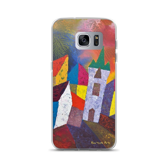 Bartos Art Samsung Case: HOUSES in MINDELHEIM II., Germany, Highlight your unique Appearance