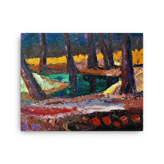 Bartos Art Stretched Canvas: FOREST III., Create Your Personalized Environment